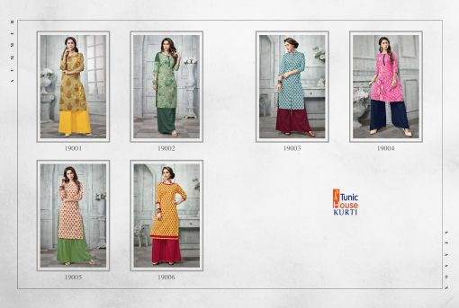 Tunic House Florenz Kurtis And Palazzo Wholesale online 4