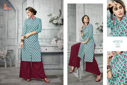 Tunic House Florenz Kurtis And Palazzo Wholesale online 5