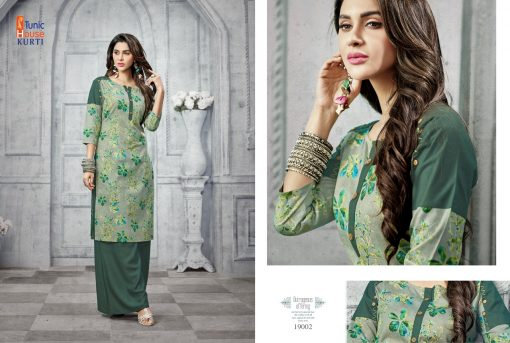 Tunic House Florenz Kurtis And Palazzo Wholesale online 7