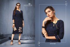 Luxuria desire designer heavy rayon casual kurti collection 12