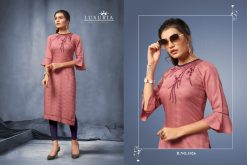 Luxuria desire designer heavy rayon casual kurti collection 15
