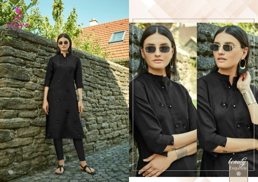 POONAM DESIGNER ASIANA VOL 2 CASUAL WEAR KURTI WITH MIRROR WORK TRADER 11