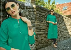 POONAM DESIGNER ASIANA VOL 2 CASUAL WEAR KURTI WITH MIRROR WORK TRADER 29