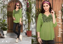 riya designer compass vol 4 embroidered short top online shopping 12