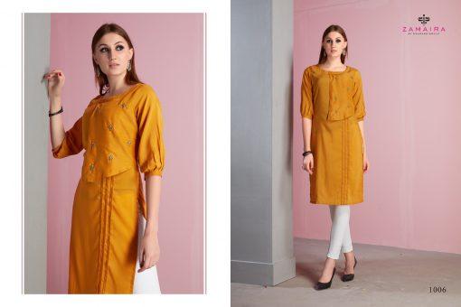Gaurang Gee-Kajal Muslin Kurtis Collection Wholesale Rates 5