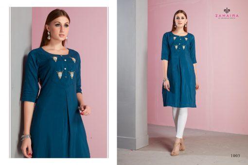 Gaurang Gee-Kajal Muslin Kurtis Collection Wholesale Rates 7
