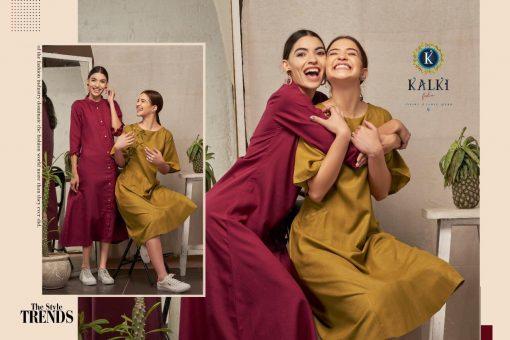 Kalki Fashion Sanskar Pure Cotton Latest Kurti Outfit In Surat 2