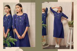 Kalki Fashion Sanskar Pure Cotton Latest Kurti Outfit In Surat 15