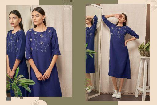 Kalki Fashion Sanskar Pure Cotton Latest Kurti Outfit In Surat 5