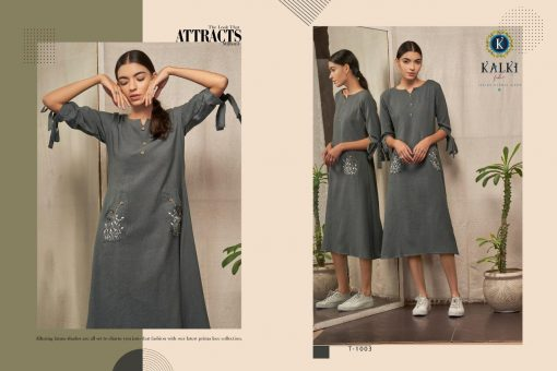 Kalki Fashion Sanskar Pure Cotton Latest Kurti Outfit In Surat 6