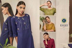 Kalki Fashion Sanskar Pure Cotton Latest Kurti Outfit In Surat 17
