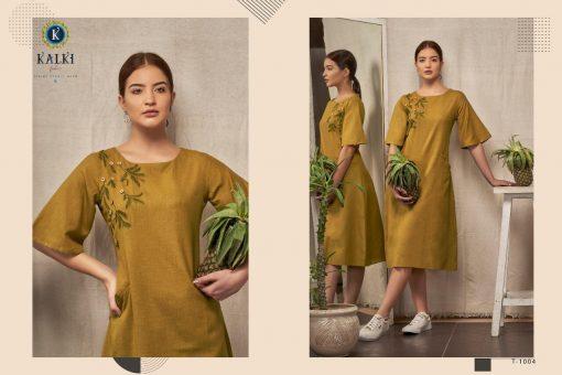 Kalki Fashion Sanskar Pure Cotton Latest Kurti Outfit In Surat 9