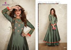 arihant nx amorina-3 long gown style kurtis collection online seller full catalog 20