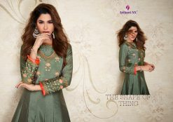 arihant nx amorina-3 long gown style kurtis collection online seller full catalog 22