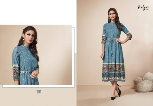 LT FABRICS KAIRA HITLIST FANCY AND ELEGANT KURTI AT BEST ONLINE PRICE 2