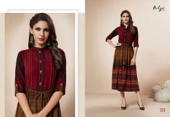 LT FABRICS KAIRA HITLIST FANCY AND ELEGANT KURTI AT BEST ONLINE PRICE 12