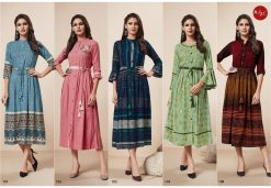 LT FABRICS KAIRA HITLIST FANCY AND ELEGANT KURTI AT BEST ONLINE PRICE 16