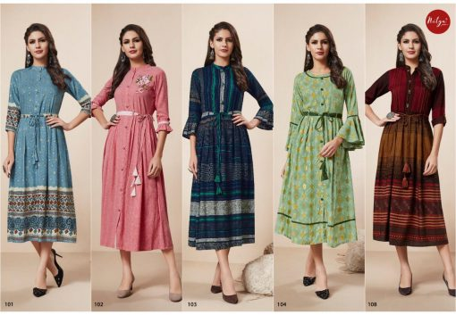 LT FABRICS KAIRA HITLIST FANCY AND ELEGANT KURTI AT BEST ONLINE PRICE 8