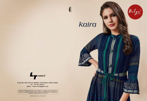 LT FABRICS KAIRA HITLIST FANCY AND ELEGANT KURTI AT BEST ONLINE PRICE 9