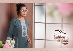 FAIRY WORLD BY ART RIDDHS 26001 TO 26005 SERIES BEAUTIFUL STYLISH KURTI 11