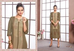 FAIRY WORLD BY ART RIDDHS 26001 TO 26005 SERIES BEAUTIFUL STYLISH KURTI 15