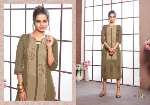 FAIRY WORLD BY ART RIDDHS 26001 TO 26005 SERIES BEAUTIFUL STYLISH KURTI 8