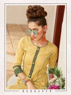 Anokhi by ladies flavour rayon stylish long top with pant collection 22