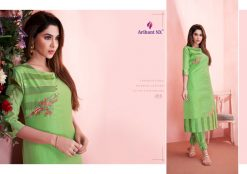 arihant present mehar pure silk stylish kurti with plazzo collection 22