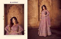 aashirwad karigari vol 2 long gown style party wear salwar suit online trader 15