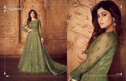 aashirwad karigari vol 2 long gown style party wear salwar suit online trader 16