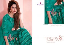 arihant present mehar pure silk stylish kurti with plazzo collection 30