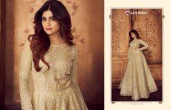 aashirwad karigari vol 2 long gown style party wear salwar suit online trader 21