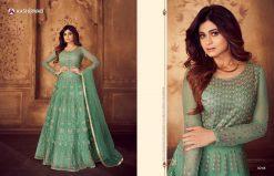 aashirwad karigari vol 2 long gown style party wear salwar suit online trader 23