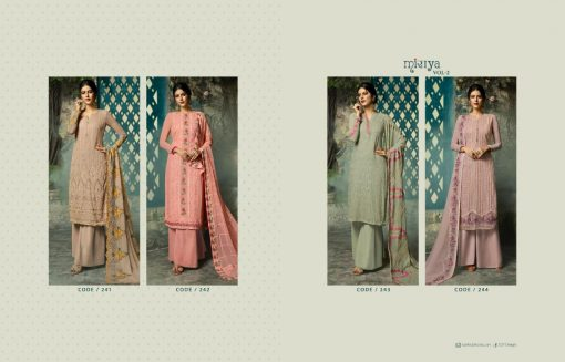 Aarav Trendz Miraya Vol-2 Catalog : Beautiful Embroidery Designer Salwar Kameez 2