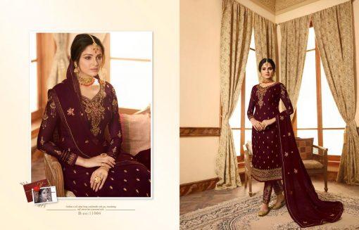 Zisa Vol 60 By Meera Trendz Embroidered Work Indian Dresses Catalog 5