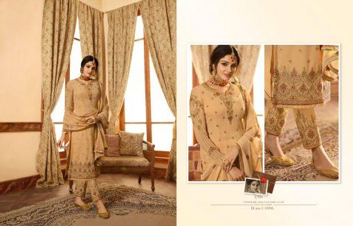 Zisa Vol 60 By Meera Trendz Embroidered Work Indian Dresses Catalog 6