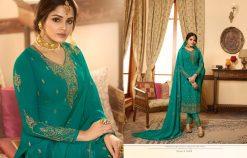 Zisa Vol 60 By Meera Trendz Embroidered Work Indian Dresses Catalog 17