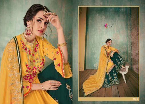Kesari Sharara 2 Faux Georgette Embroidered Salwar Kameez Collection 2
