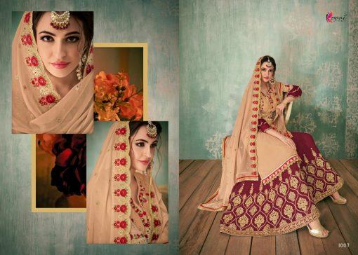 Kesari Sharara 2 Faux Georgette Embroidered Salwar Kameez Collection 3