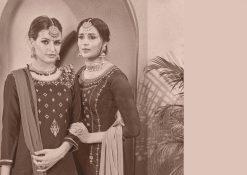 kalarang launching blossom vol 7 jam silk cotton lehanga style salwar kameez 17