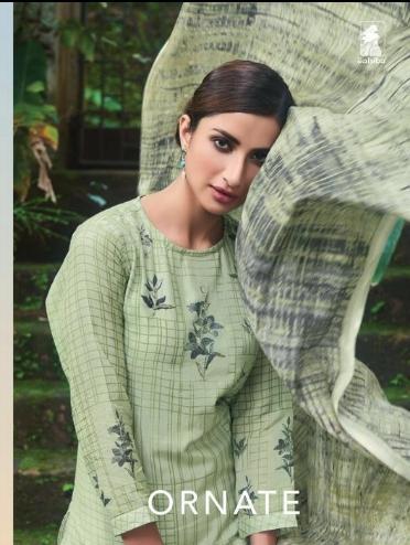 Sahiba Launch Ornate Cotton Silk Digital Print Salwar Kameez Supplier 1