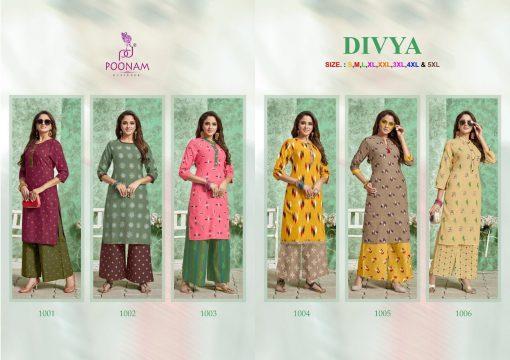 Poonam Designer Divya 1001-1006 Series Designer Kurti 7