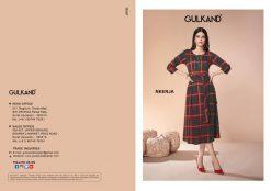 gulkand neerja heavy rayon casual wear kurti collection with hand work and print full catalog 12