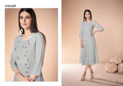 gulkand neerja heavy rayon casual wear kurti collection with hand work and print full catalog 14