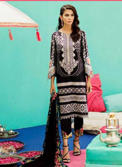 SANIYA TRENDS CHARIZMA Vol-2 Pure Cottan With Embroidery 1