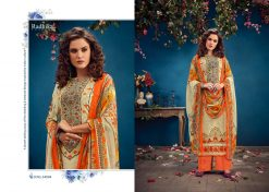 Radhika Azara vol -34 pure camric print dress material 22