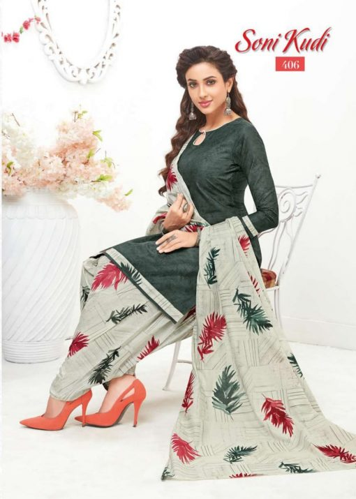 navkar fab soni kudi vol 4 cotton patiyala unstitched dress materials 8