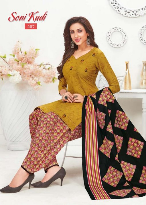 navkar fab soni kudi vol 4 cotton patiyala unstitched dress materials 11