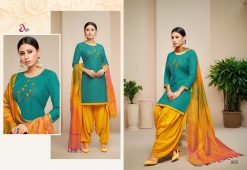 angroop heeriye catalogue soft cotton with embroidery work dress material collection wholesale rates from surat 22