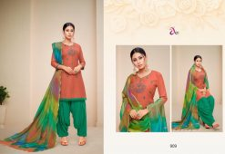 angroop heeriye catalogue soft cotton with embroidery work dress material collection wholesale rates from surat 24